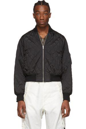 Random Identities Men Bomber Jackets - Quilted Bomber Jacket