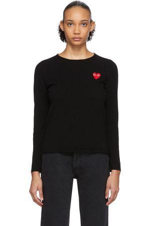 Comme des Garçons Heart Patch Sweater