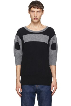 Random Identities Men Sweaters - Wool and Cashmere Morse Code Sweater