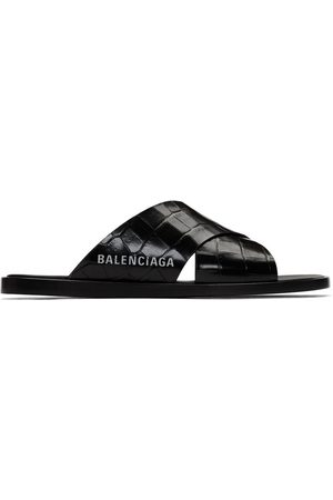 Balenciaga Men Sandals - Cosy Croc Sandals