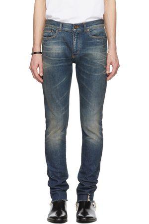 Saint Laurent Skinny 5 Pocket Low Jeans