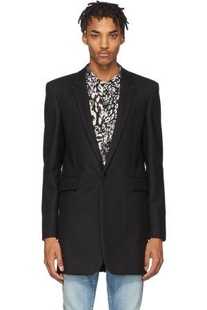 Saint Laurent Wool Gabardine Coat