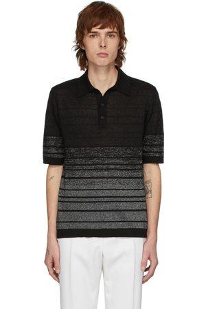 Saint Laurent Men Polo Shirts - And Lurex Polo