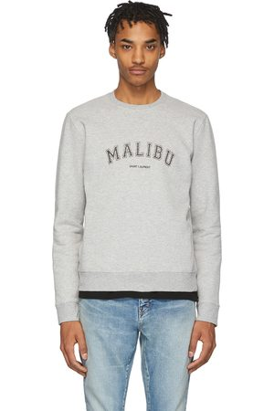 Saint Laurent Grey Malibu Sweatshirt