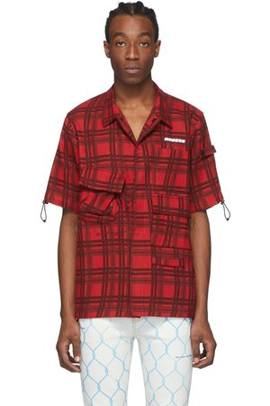OFF-WHITE Check Voyager Short Sleeve Shirt