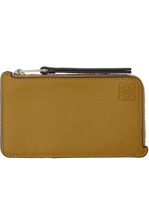 Loewe And Taupe Coin Card Holder