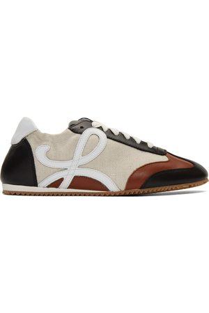 Loewe And Navy Ballet Runner Sneakers