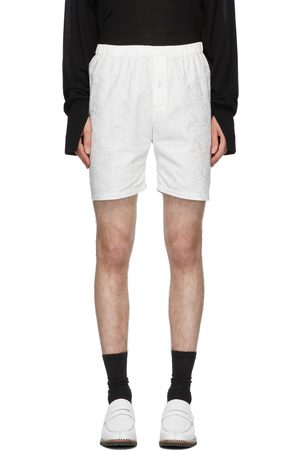Sulvam Men Shorts - Embroidered Shorts