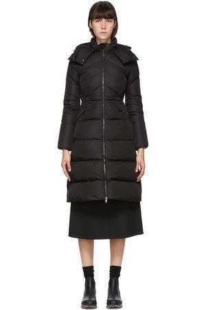 Moncler Women Coats - Down Belted Agot Coat