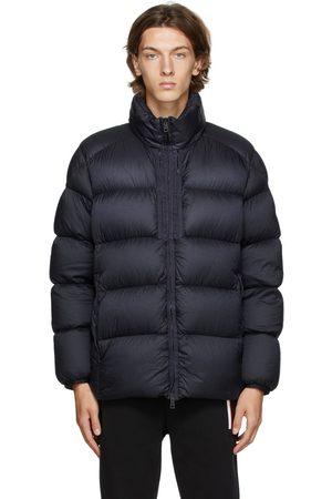 Moncler Men Puffer Jackets - Navy Down Cevenne Puffer Jacket