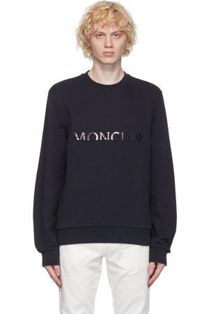 Moncler Navy Logo Sweatshirt
