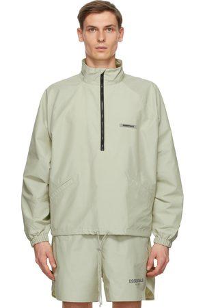 Essentials Half-Zip Track Jacket
