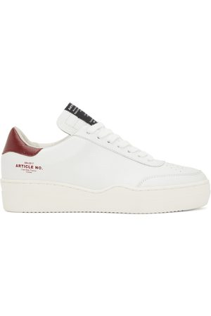 ARTICLE NO. And Burgundy 0517 Low-Top Sneakers