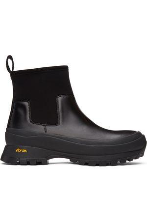 Jil Sander Neoprene Rain Chelsea Boots