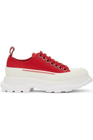 Alexander McQueen Women Sneakers - Tread Slick Platform Low Sneakers