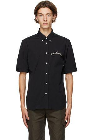 Alexander McQueen Embroidered Logo Shirt