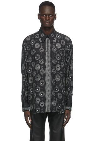 Givenchy And Grey Jewelry Printed Shirt