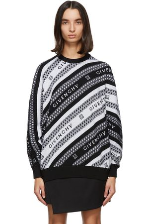 Givenchy And Chain Jacquard Sweater