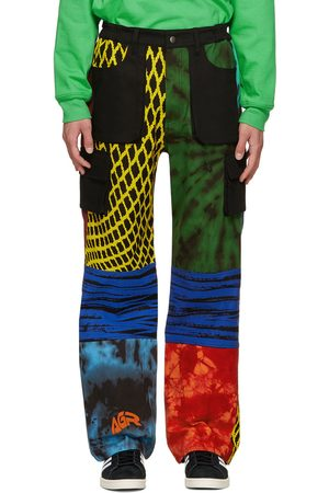 AGR SSENSE Exclusive Hand-Printed Cargo Pants