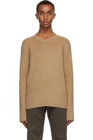 The Row Men Sweaters - Tan Salomon Sweater