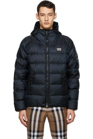 Burberry Monogram Hooded Puffer Jacket