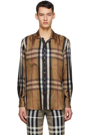 Burberry Silk Twill Reconstructed Shirt