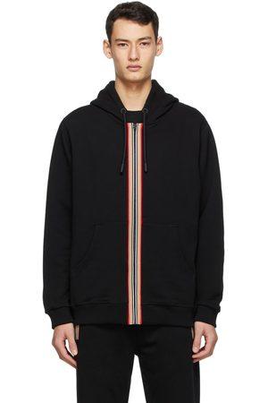 Burberry Icon Stripe Zip-Up Hoodie