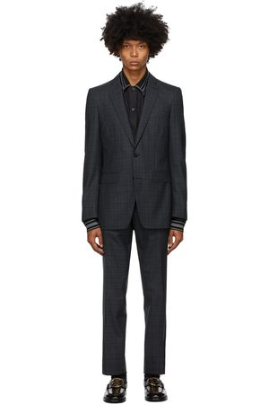 Burberry Checkered English Suit