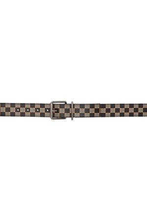 Burberry Mack Check Belt