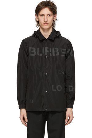 Burberry Logo Print Ealing Jacket