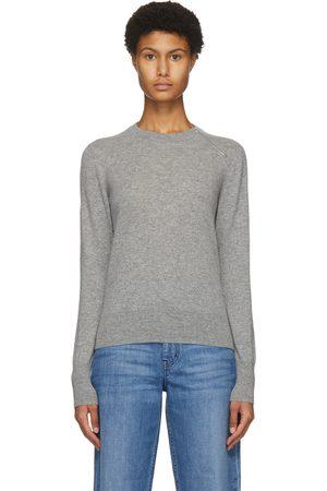 Partow Grey Cashmere Brynner Sweater
