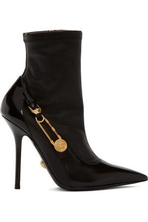 VERSACE Medusa Heeled Boots