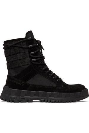VERSACE High Sneaker Boots