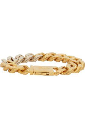 Saint Laurent And Curb Chain Bracelet