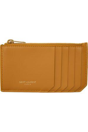Saint Laurent Women Wallets - Fragments Zipped Card Holder