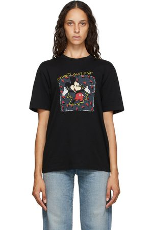 Saint Laurent Mickey Mouse T-Shirt