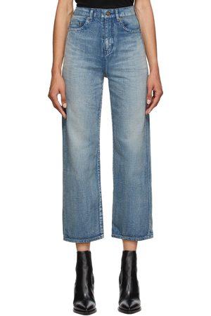 Saint Laurent Denim Original High-Rise Jeans