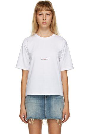 Saint Laurent Women T-shirts - Logo T-Shirt