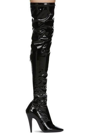 Saint Laurent Patent Aylah Tall Boots