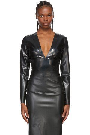 Saint Laurent Latex Bodysuit