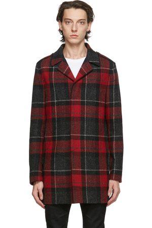 Saint Laurent And Wool Mac Coat
