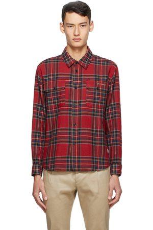 Saint Laurent Wool Tartan Shirt