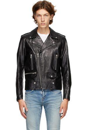 Saint Laurent Leather Classic Biker Jacket