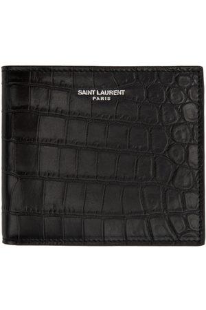 Saint Laurent Men Wallets - Croc Logo Wallet
