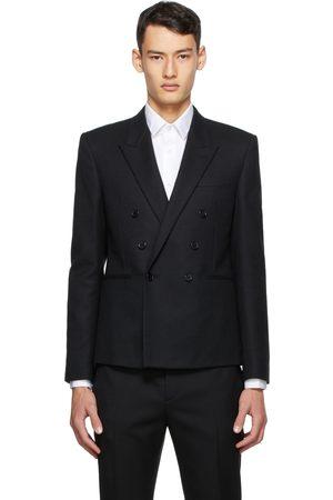 Saint Laurent Wool Short Blazer
