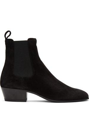 Saint Laurent Suede Cole Chelsea Boots