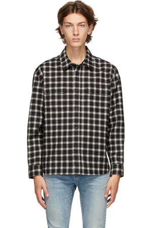 Saint Laurent Multicolor Plaid Shirt
