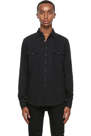 Saint Laurent Men Denim - Denim Classic Western Shirt