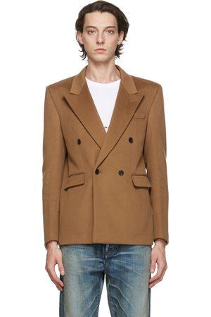 Saint Laurent Wool Long Blazer