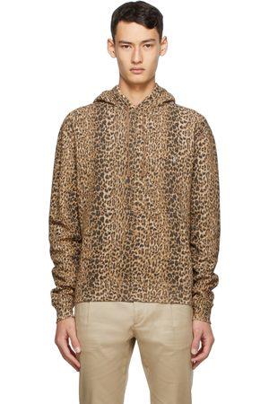 Saint Laurent Leopard Hoodie